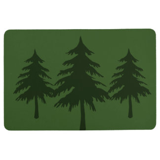 TREES FLOOR MAT