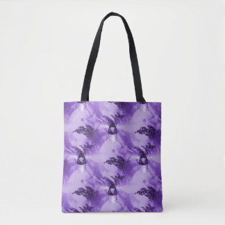 Trees from a purple galaxy.... tote bag