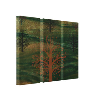 Trees & Hills Canvas Print - Option 2
