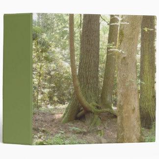 Trees in an Awkward Position Vinyl Binder