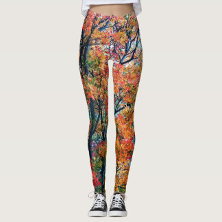 Trees In Bloom. Leggings
