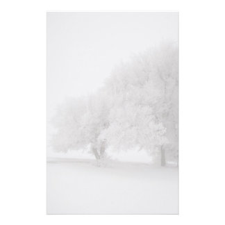 Trees in Fog Stationery