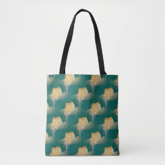 Trees in the colors of Fall... Tote Bag