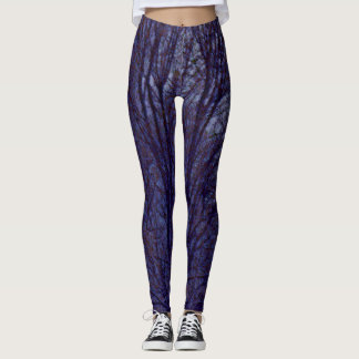 Trees In The Dark Leggings