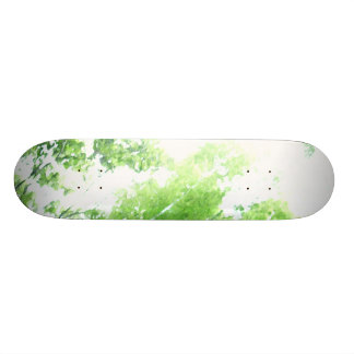 Trees in the Forrest View Skate Board Decks