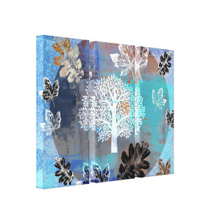Trees & Leaves Canvas Print - Option 3