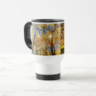 Trees Nature Fall Landscapes Sky Destiny Destiny'S Travel Mug