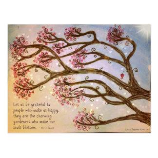 Trees of Wisdom Postcard