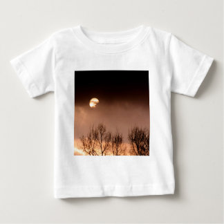 Trees Ominous Evening Baby T-Shirt