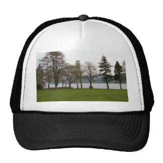 Trees on the shore of Loch Ness Trucker Hat