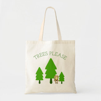 Trees Please Tote Bag