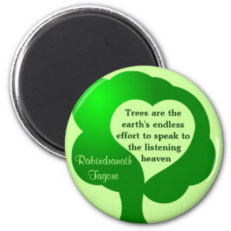 Trees quote magnet