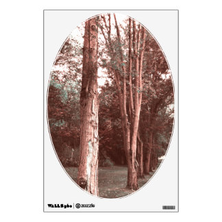 Tree's Sepia-tone Wall Sticker