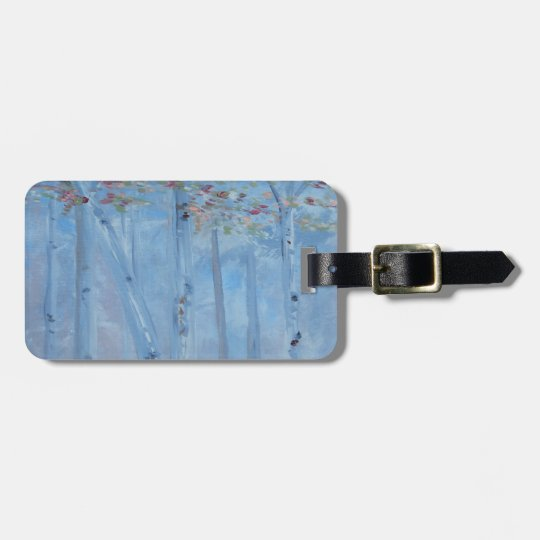 Trees Tall and Lovely Luggage Tag