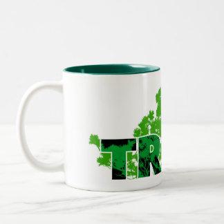 Trees Two-Tone Coffee Mug