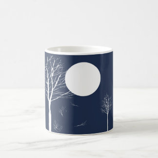 Trees under the Moon Mugs