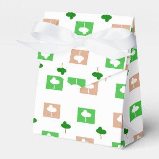 Trees Wedding Favor Boxes
