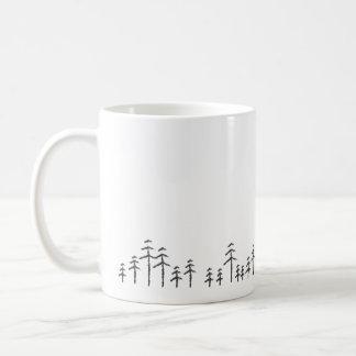 Treescape Minimalist Mug