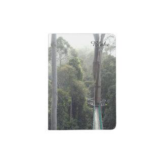 Treetop Canopy Danum Valley Sabah Borneo Passport Holder
