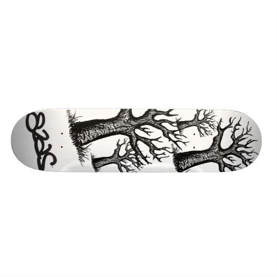 treeyes deck custom skateboard