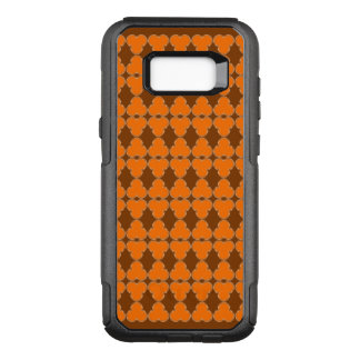 Trefoil semi transparent elegant pattern OtterBox commuter samsung galaxy s8+ case