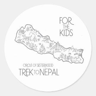 Trek to Nepal - FTK Sticker