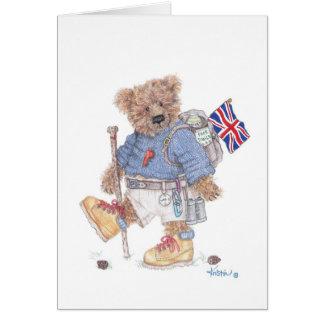 Trekking  in the UK Card