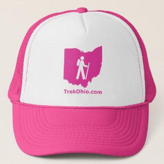 TrekOhio Trucker Hat, Hot Pink Trucker Hat