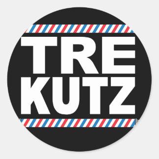 TreKutz logo sticker