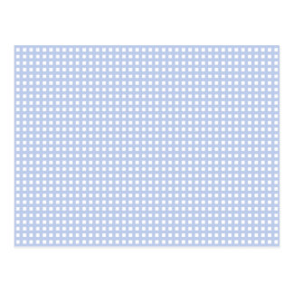 Trellis bleu d'Alice dans un jardin anglais de Carte Postale