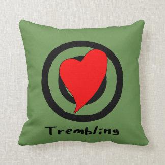 trembling throw pillow