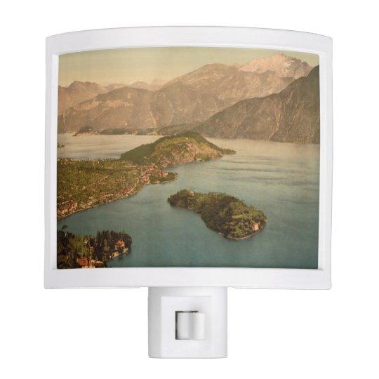 Tremezzina Bay, Lake Como, Lombardy, Italy Night Lite