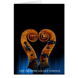 Tremper Golden Strings Card