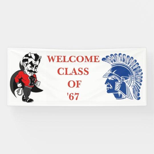 Tremper Trojan Class Reunion Banner
