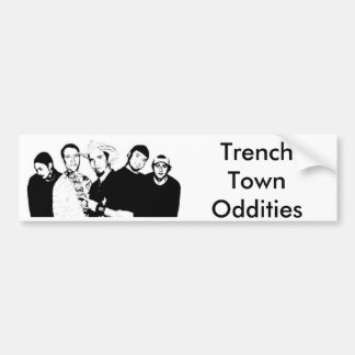 Trench Town Oddities 4 bumper sticker