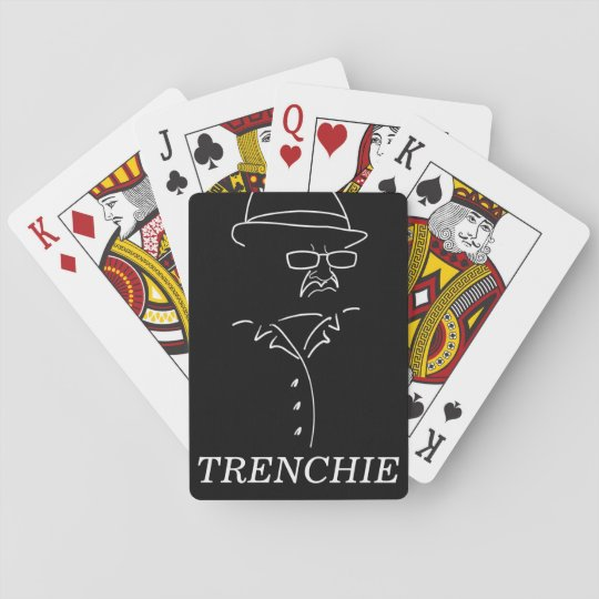 Trenchie Playing Cards