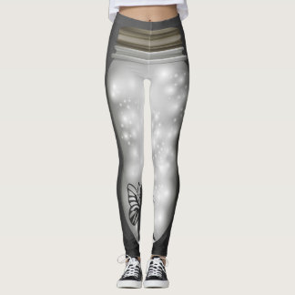 Trend-Setters Fairy Lights Jar Designer Leggings