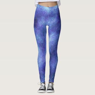 Trend-Setters Purple Blast Designer Leggings