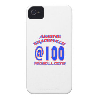 TRENDING 100 YEARS OLD BIRTHDAY DESIGNS iPhone 4 CASES
