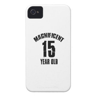 TRENDING 15 YEAR OLD BIRTHDAY DESIGNS iPhone 4 Case-Mate CASE