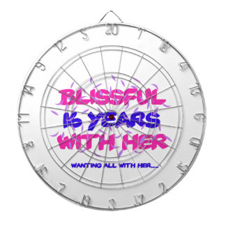 Trending 16th marriage anniversary designs dartboard