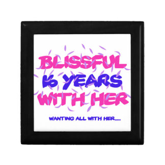 Trending 16th marriage anniversary designs gift boxes