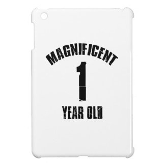 TRENDING 1 YEAR OLD BIRTHDAY DESIGNS iPad MINI COVERS