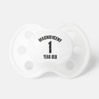 TRENDING 1 YEAR OLD BIRTHDAY DESIGNS PACIFIER