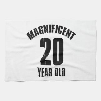 TRENDING 20 YEAR OLD BIRTHDAY DESIGNS KITCHEN TOWEL