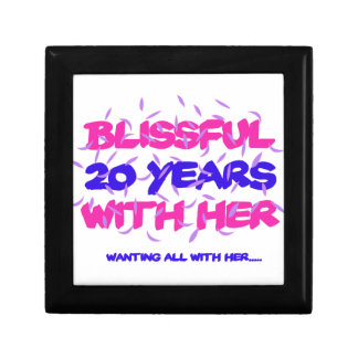 Trending 20TH marriage anniversary designs Gift Box