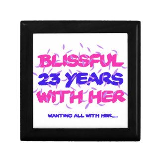 Trending 23rd marriage anniversary designs gift box