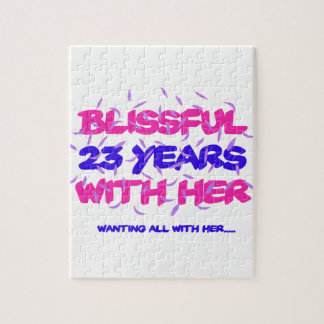 Trending 23rd marriage anniversary designs jigsaw puzzle
