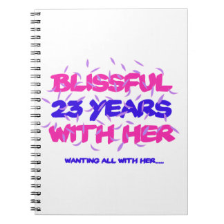 Trending 23rd marriage anniversary designs notebooks