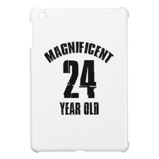 TRENDING 24 YEAR OLD BIRTHDAY DESIGNS iPad MINI CASES